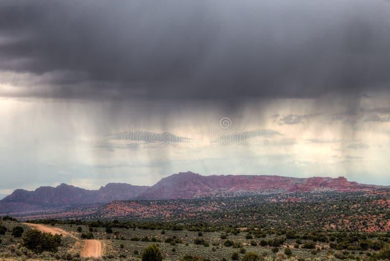 AZ-UT-Vermilliomklippen-Wildnis--skojote Buttes stockfotografie