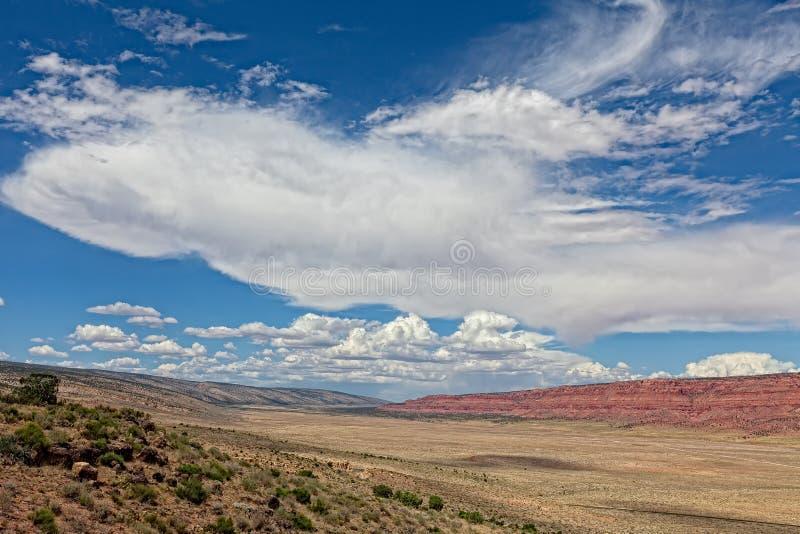 AZ-Vermillion Cliffs from House Rock Valley stock photos