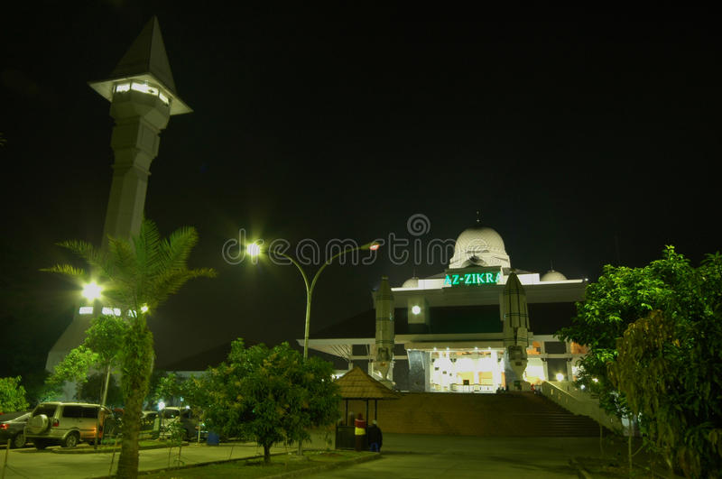 Download Az-Zikra Masjid stock photo. Image of zikra, jakarta - 26342274