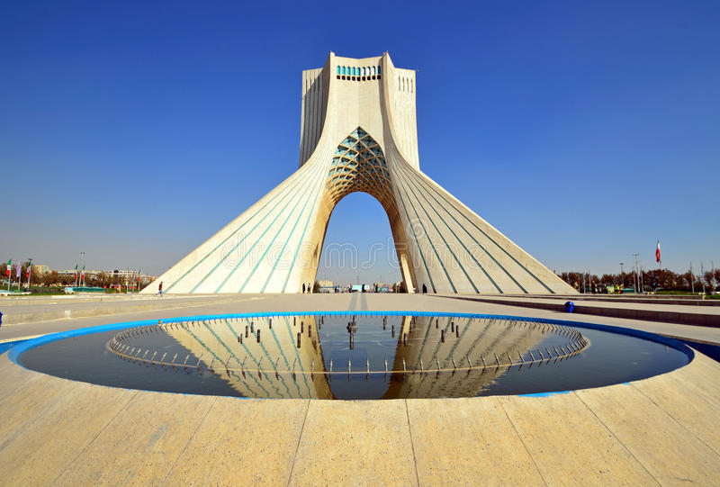 Download Azadi Tower Stock Photo. Image Of Azadi, Near, Asia, Square
