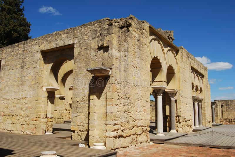 azahara bazyliki budynku medina Spain zdjęcie royalty free