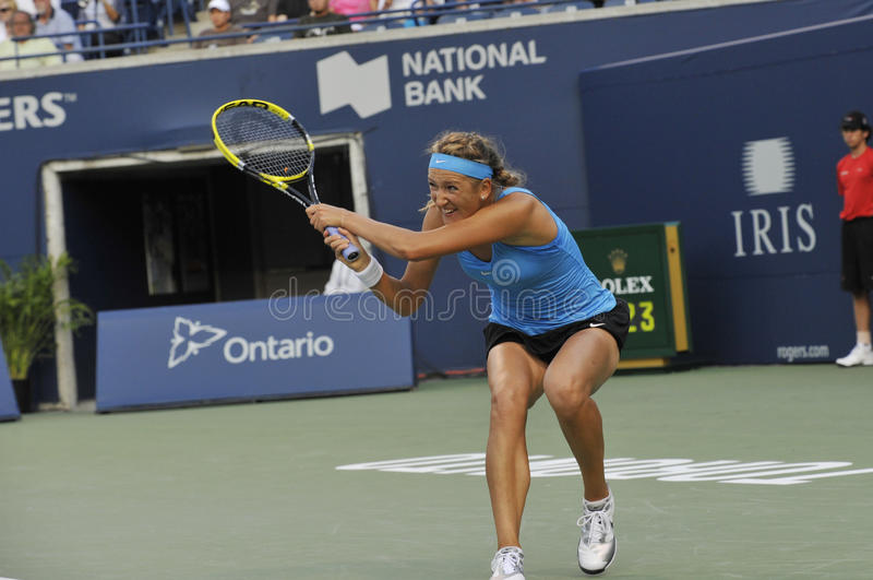 Azarenka Victoria # 1 WTA immagini stock