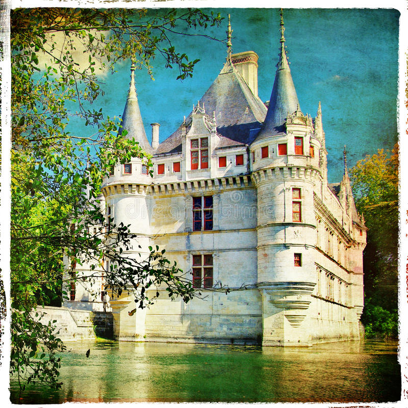 Download Azay le Rideau castle stock image. Image of loire, europe - 12150715