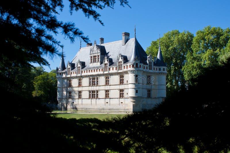 Azay-le-Rideau Castle Royalty Free Stock Photo