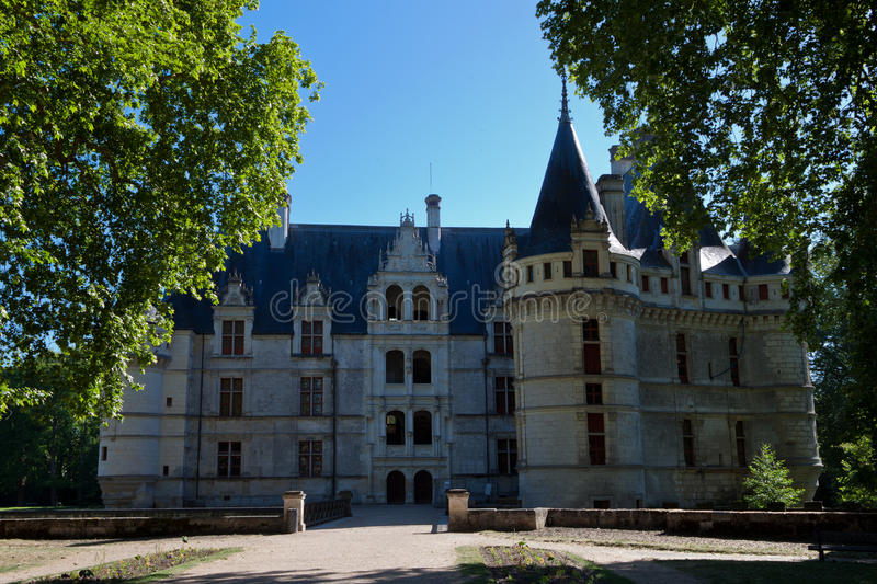 Download Azay-le-Rideau Castle Royalty Free Stock Photography - Image: 21557437
