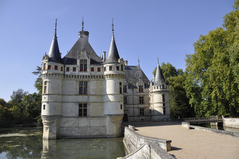 Download Azay-le-Rideau chateau stock photo. Image of castle, renaissance - 11386366