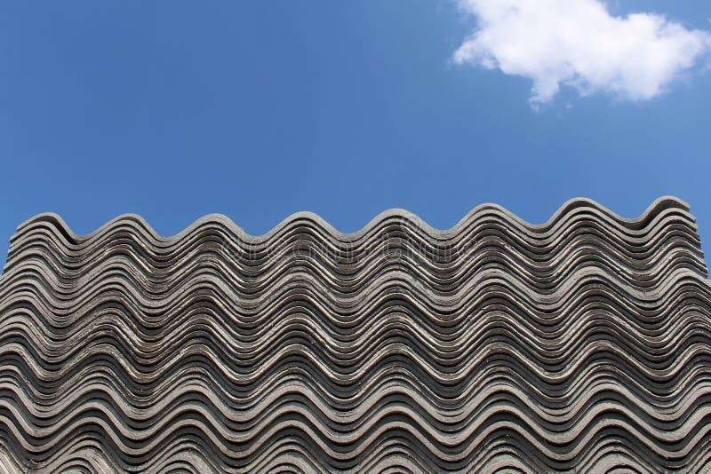 Azbesta dach obrazy royalty free