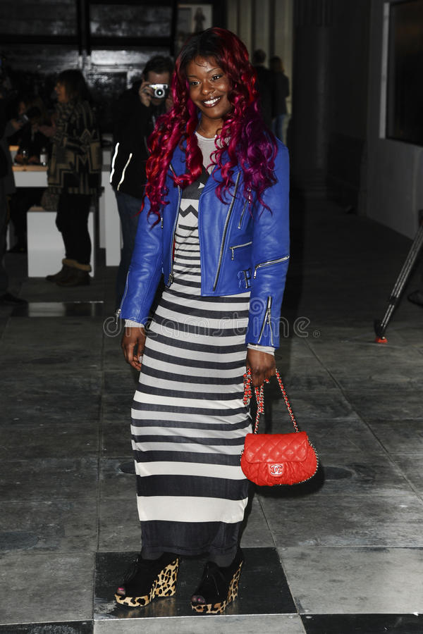 Download Azealia Banks editorial stock image. Image of fashion - 23475579
