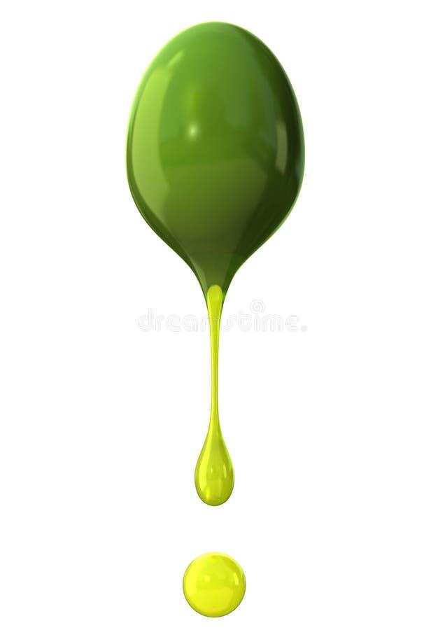 Azeitona verde ilustração do vetor