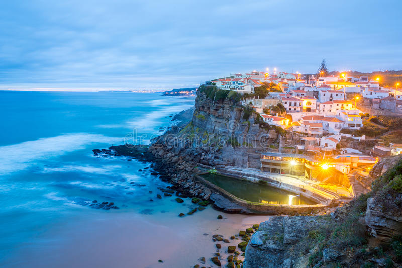 Azenhas estraga a vila Sintra Portugal fotos de stock