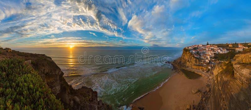 Azenhas Mąci - Portugalia obrazy stock