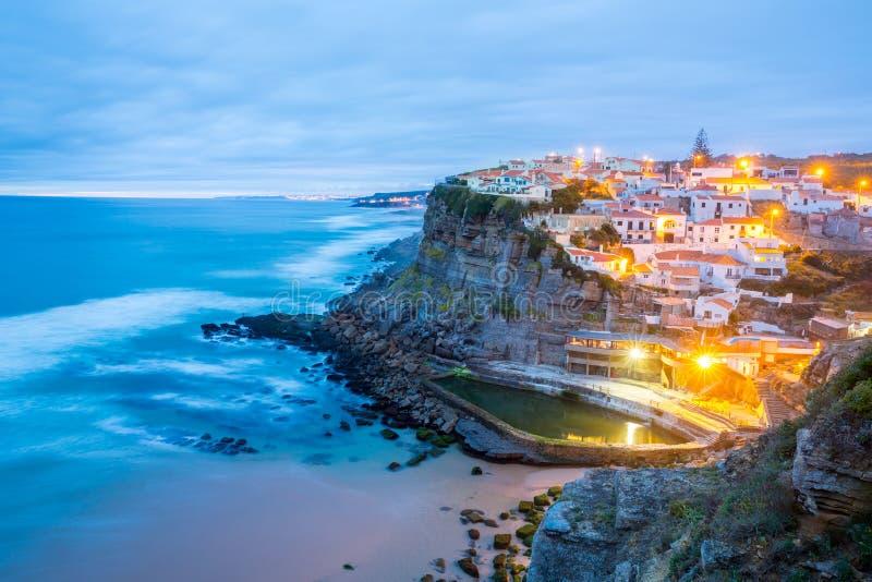 Azenhas troublent le village Sintra Portugal photos stock