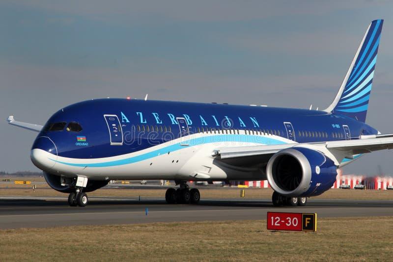 Azerbaijan Airlines imágenes de archivo libres de regalías