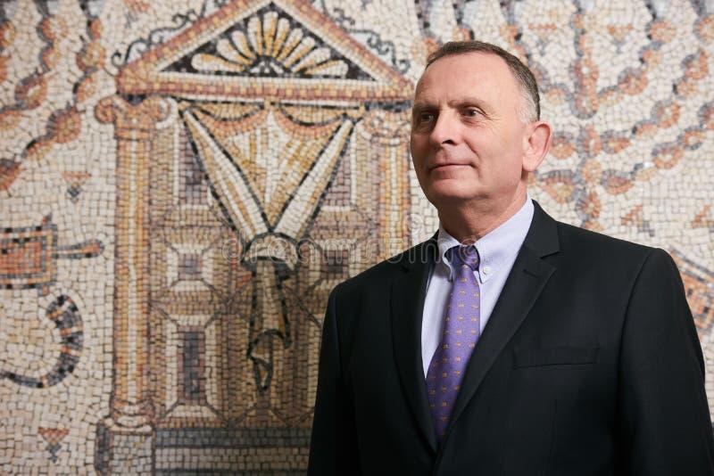 Azerbaijan, Baku - June 07, 2018: Ambassador Dan Staw portrait. Israeli Ambassador to Azerbaijan Mr. Dan Staw royalty free stock photos