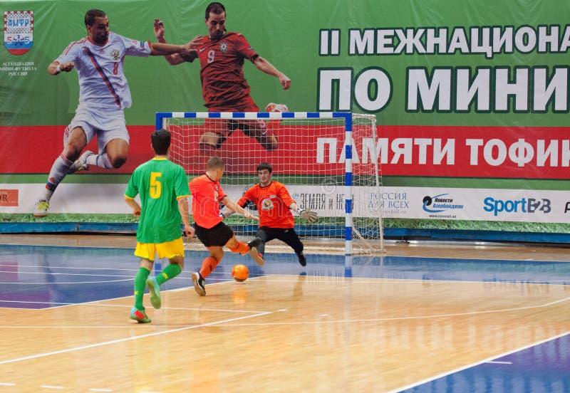 Azerbaijan team (G) versus MGKFS team (O) royalty free stock photography