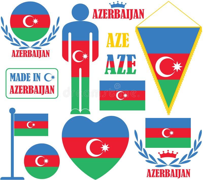 Azerbaijan vector illustration