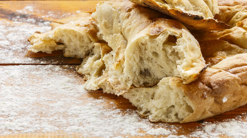 Azerbaijani bread Tyandir royalty free stock photo