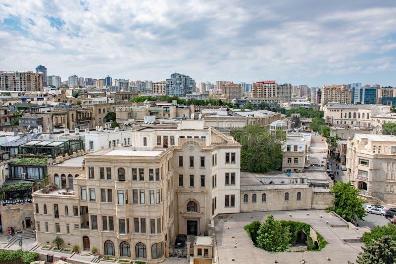 Azerbajian, Bakou, centre peut 2019 photos libres de droits