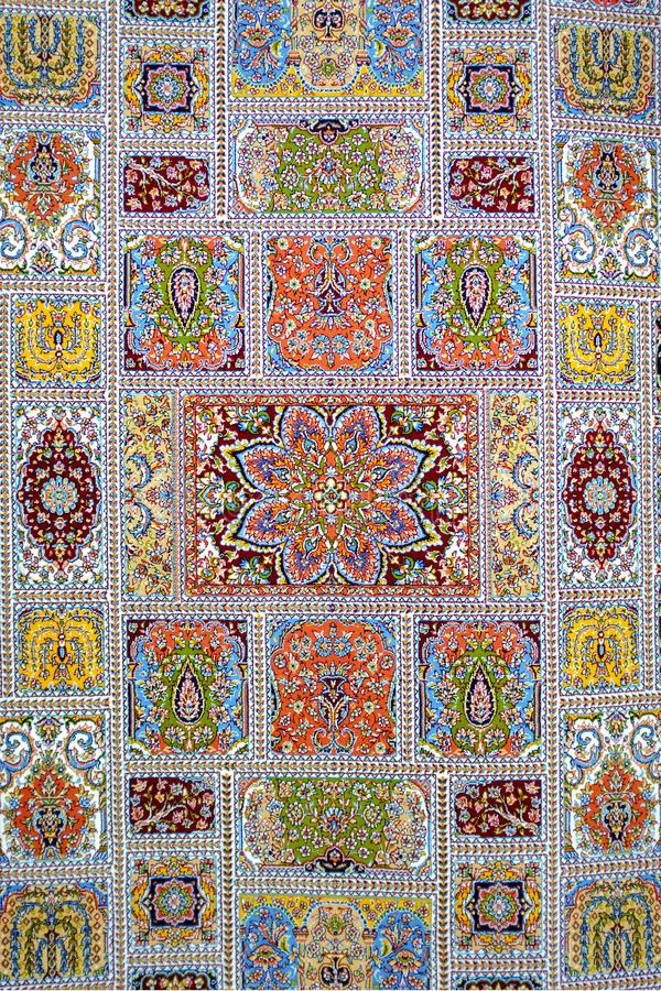 Azerbejdżańscy dywany obrazy royalty free