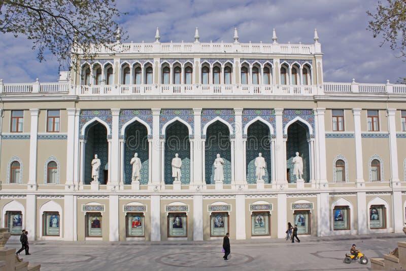 Azerbejdżan baku Muzeum wymieniający po Nizami Azerbejdżan literatura zdjęcia royalty free