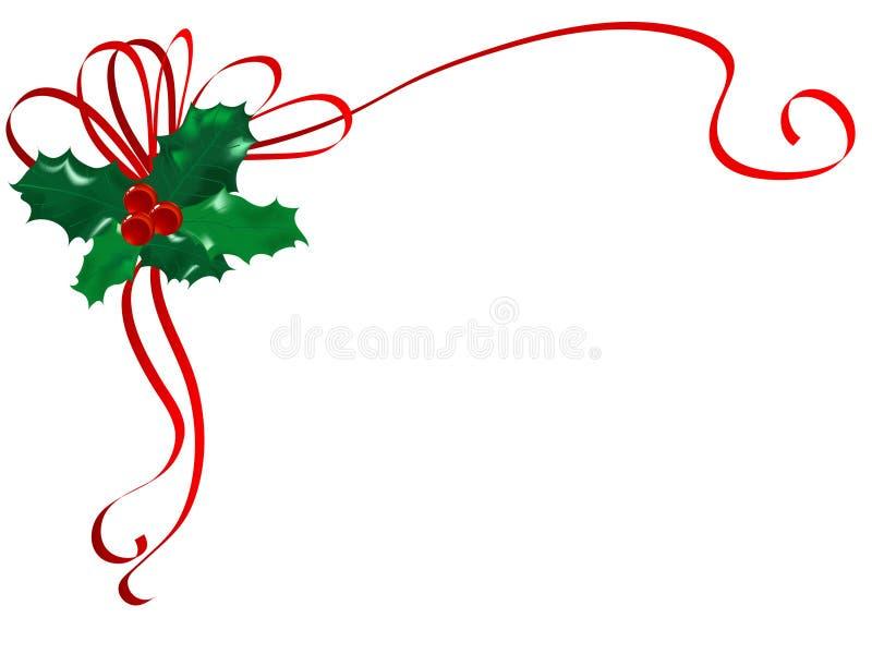 Download Azevinho do Natal ilustração do vetor. Ilustração de advent - 16855304