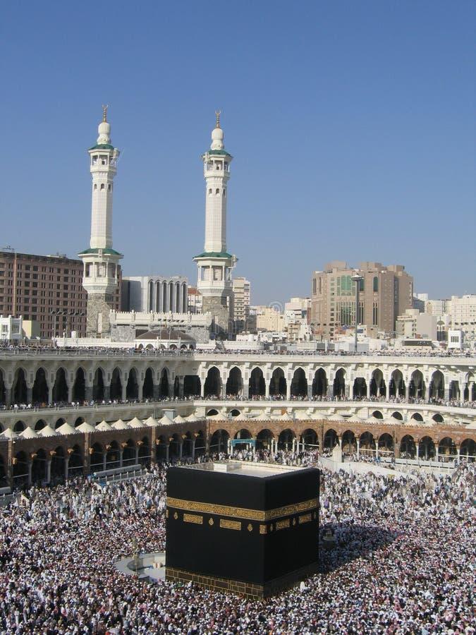 Azevinho Kaaba imagens de stock royalty free