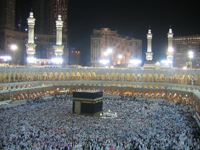 Azevinho Kaaba fotografia de stock royalty free