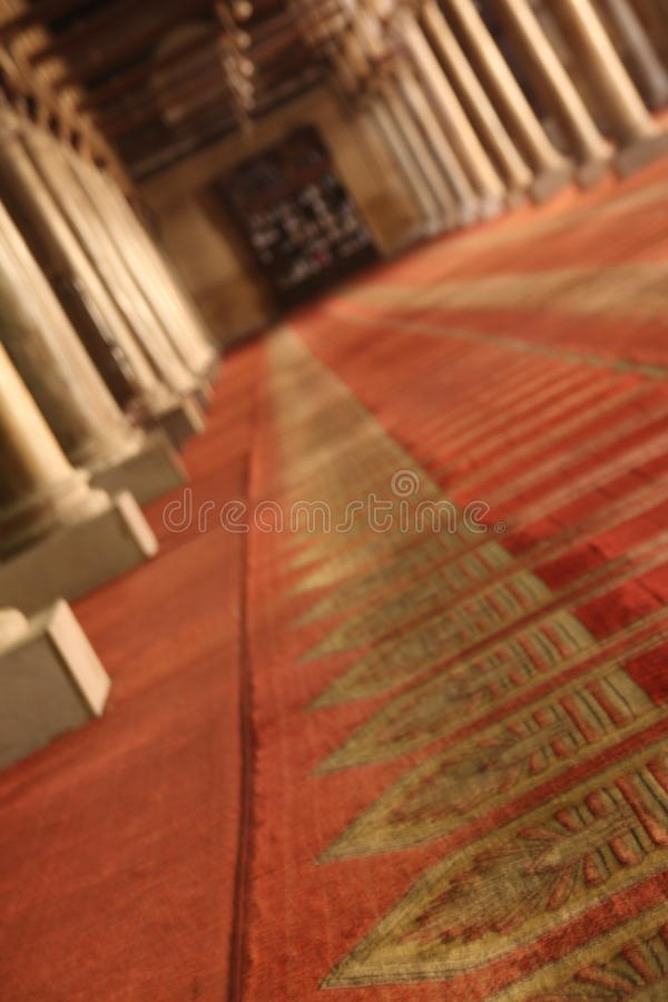 azhar moské för al fotografering för bildbyråer