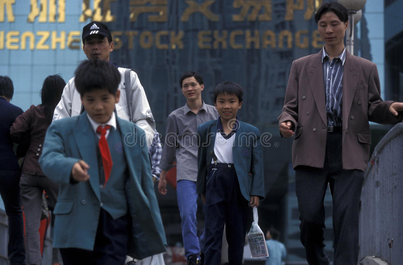 AZIË CHINA SHENZEN royalty-vrije stock fotografie