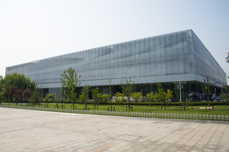 Azië China, Tianjin, Wuqing-Museum, verschijning stock foto