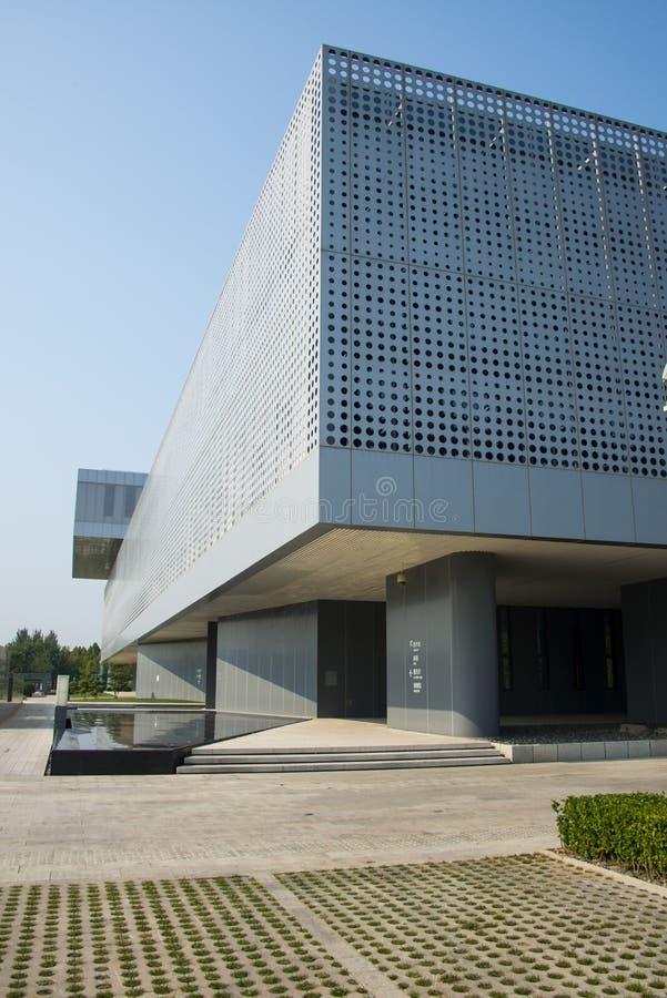 Azië China, Tianjin, Wuqing-Museum, verschijning stock fotografie