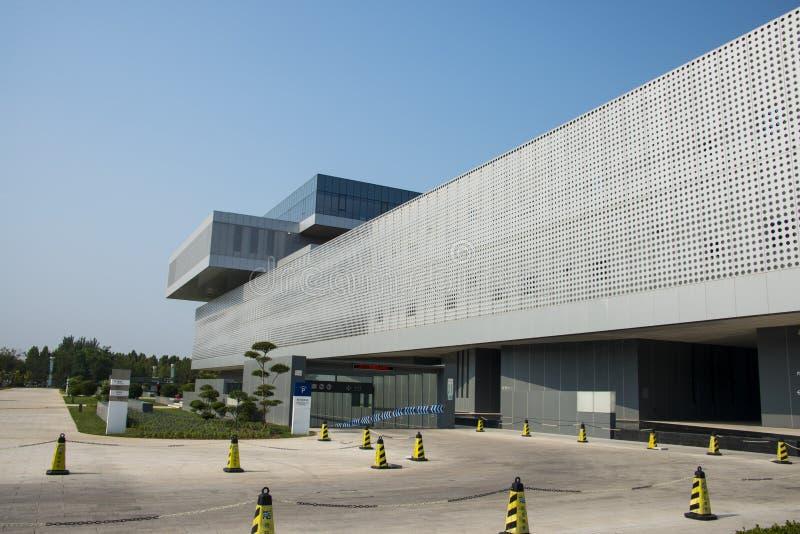 Azië China, Tianjin, Wuqing-Museum, verschijning royalty-vrije stock foto