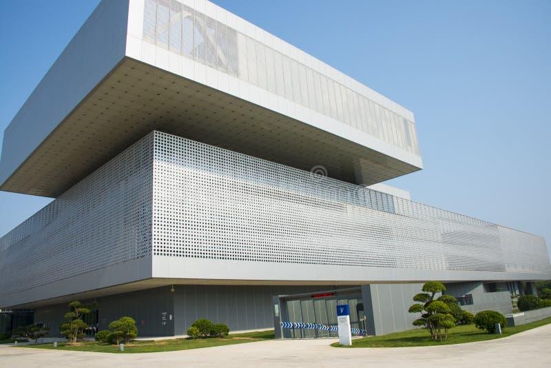 Azië China, Tianjin, Wuqing-Museum, verschijning stock afbeelding