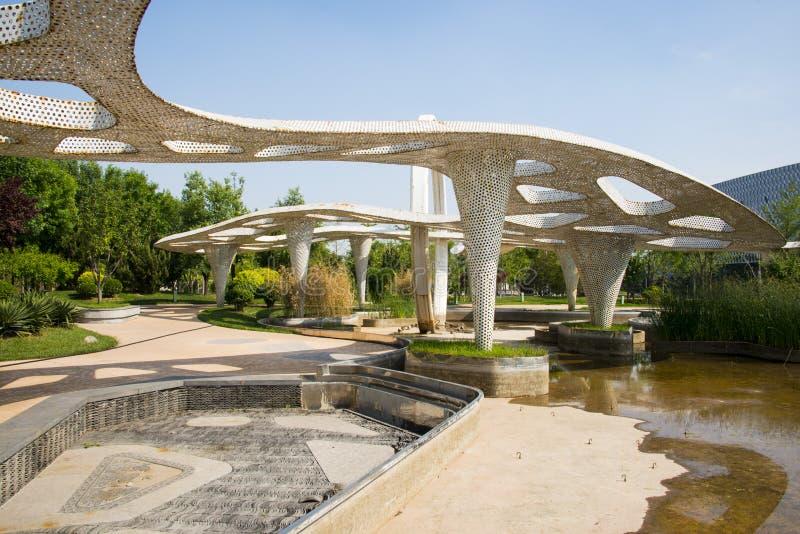 Azi chinees peking tuin expo moderne architectuur - Pavillon residentiel moderne gurney architecte ...