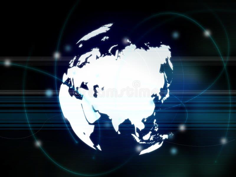 Azië kaart vector illustratie