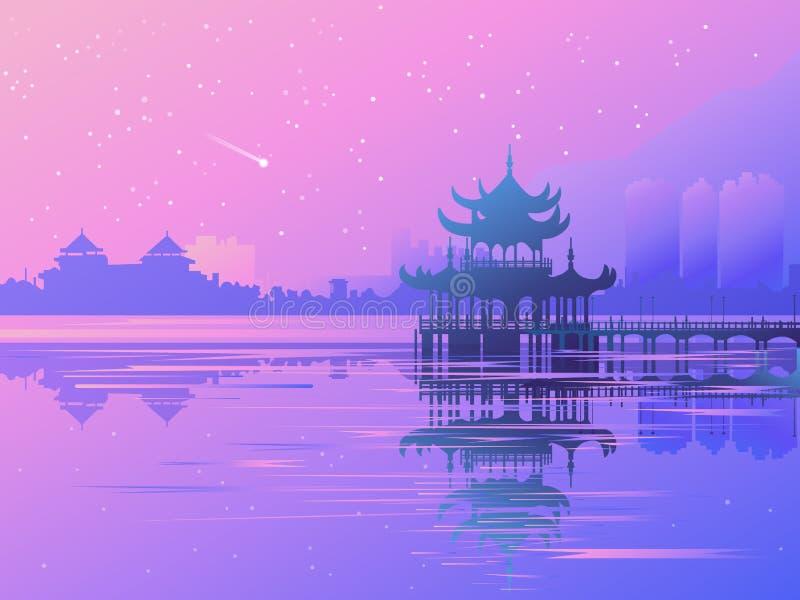 Azia 3_01 illustrazione di stock