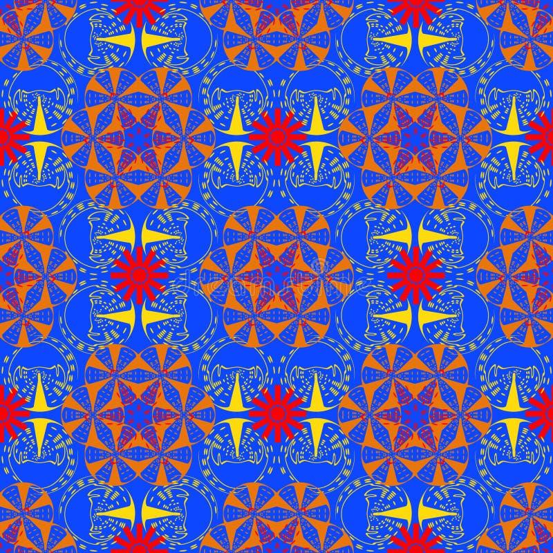 Aziaat, bloem als vector illustratie