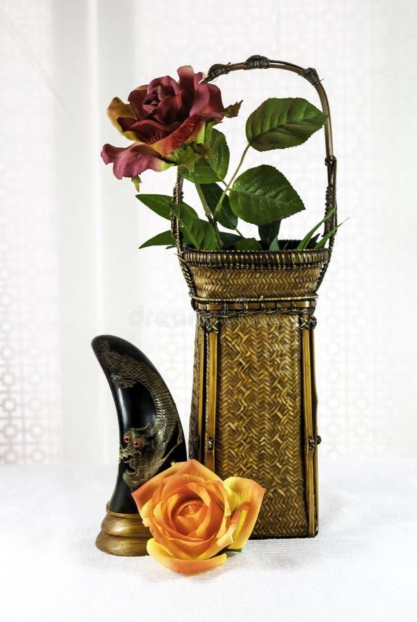 Aziatisch Antiek Art Objects royalty-vrije stock fotografie