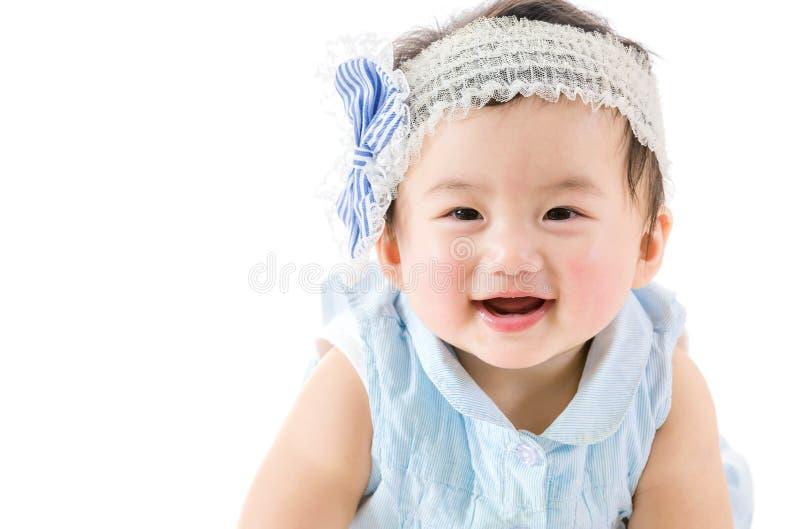 Aziatisch babymeisje stock afbeeldingen