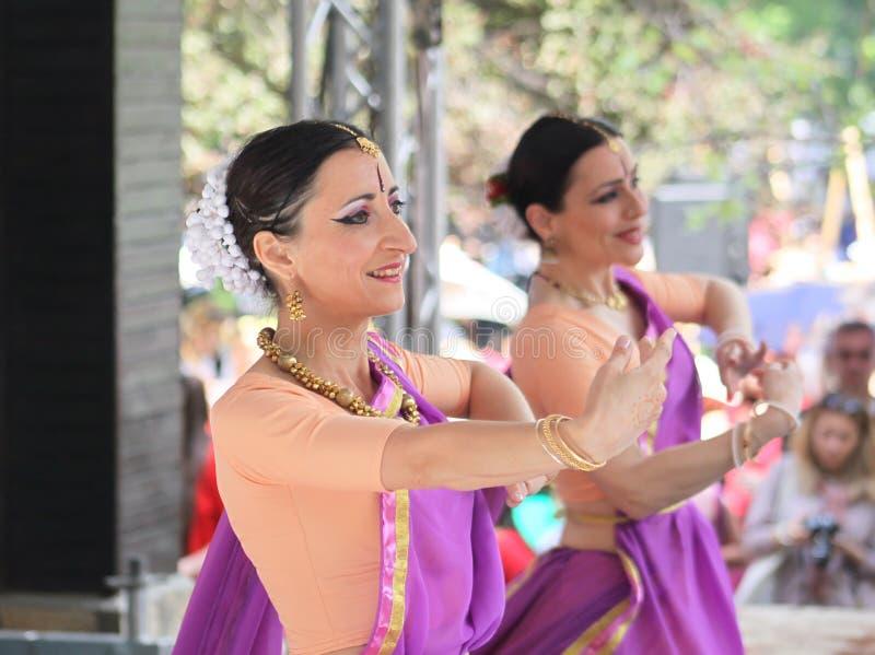 Aziatisch Festival Sofia 2018, Bulgarije royalty-vrije stock foto