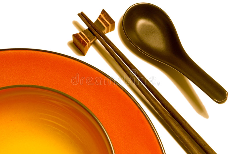 Aziatisch keukengerei D stock foto's