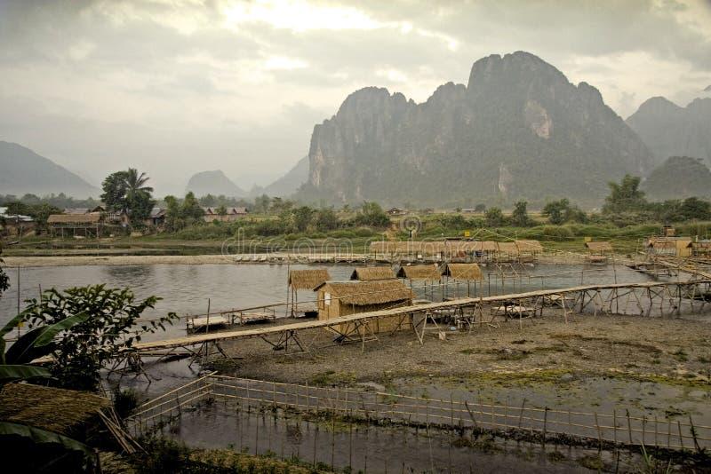 Aziatisch Landschap stock fotografie