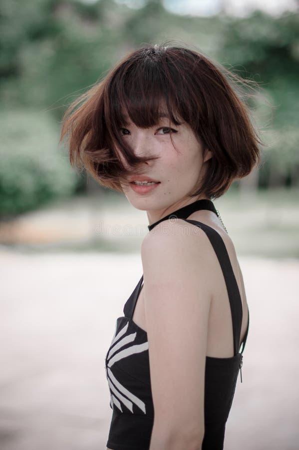 Aziatisch Meisje stock afbeeldingen
