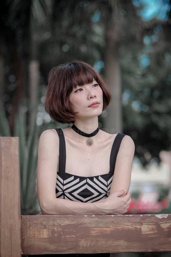 Aziatisch Meisje royalty-vrije stock foto