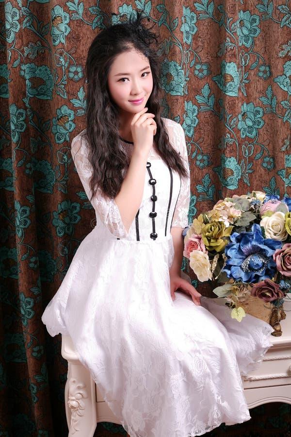 Aziatisch Meisje royalty-vrije stock foto's