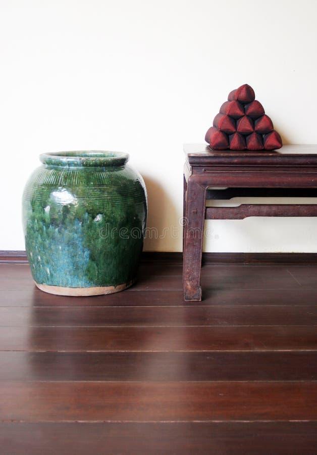 Aziatisch meubilair stock foto