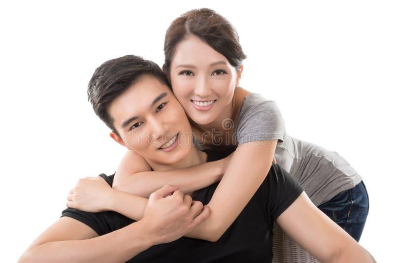 Aziatisch Paar royalty-vrije stock foto's