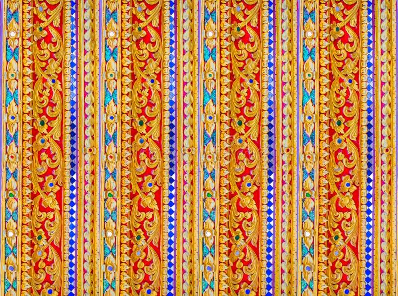 Aziatisch patroon, de bouw en architectuur binnenlands stijlart. stock fotografie