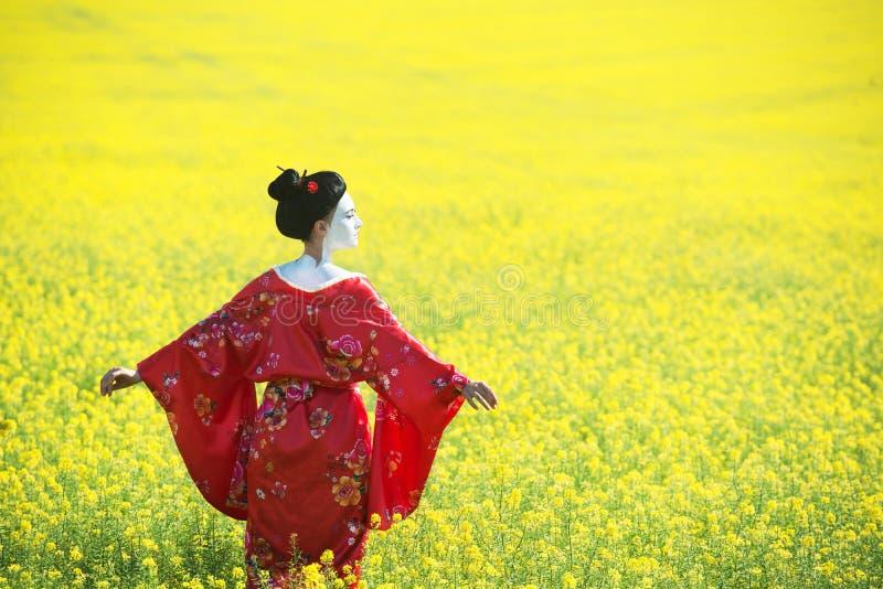 Aziatisch stijl vrouwelijk portret stock foto