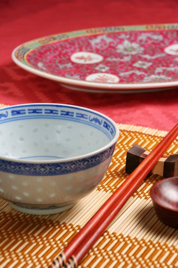 Aziatisch vaatwerk royalty-vrije stock afbeeldingen